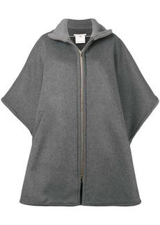 Stella McCartney oversized zip-front cape
