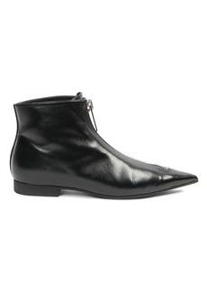 Stella McCartney Zipit Point-Toe Ankle Boots