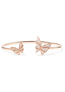 Stephen Webster Fly By Night 18-karat Rose Gold Diamond Cuff