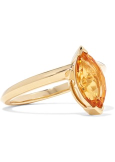 Stephen Webster Jitterbug 18-karat Gold Citrine Ring