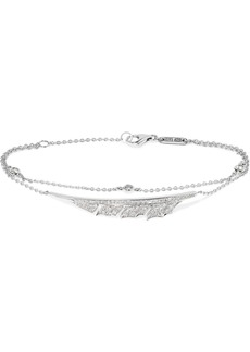 Stephen Webster Magnipheasant 18-karat White Gold Diamond Bracelet