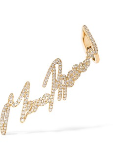 Stephen Webster Tracey Emin More Passion 18-karat Gold Diamond Ear Cuff