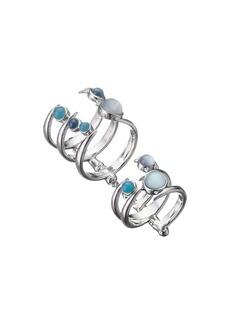 Stephen Webster Jewels Verne Bonafide Ring with Blue Agate