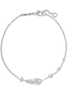 Stephen Webster Topkat 18-karat white gold diamond bracelet