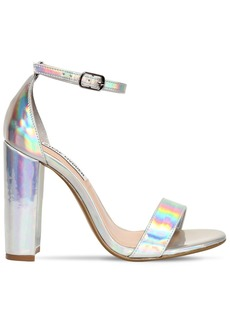 Steve Madden 100mm Carrson Iridescent Sandals