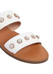 Steve Madden 10mm Jole Embellished Leather Sandals