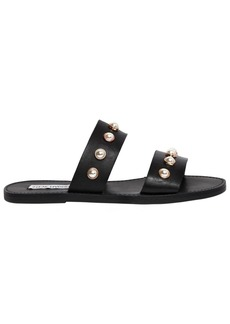 Steve Madden 10mm Jole Embellished Leather Sandals
