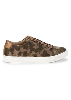 Steve Madden Afalfa Camouflage Suede Sneakers