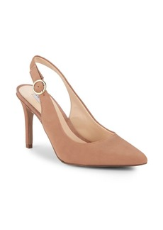 Steve Madden Amara Leather Slingback Pumps