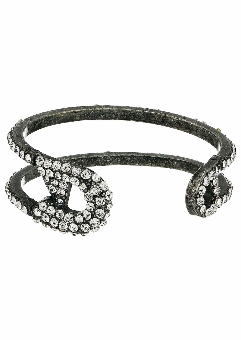 Steve Madden Burnished Open Cuff Bracelet