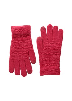 Steve Madden Cable I Touch Brush Lining Gloves