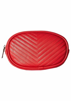 Steve Madden Chevron Quilted Belt Bag
