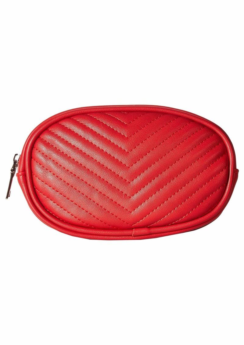 Chevron Quilted Belt Bag