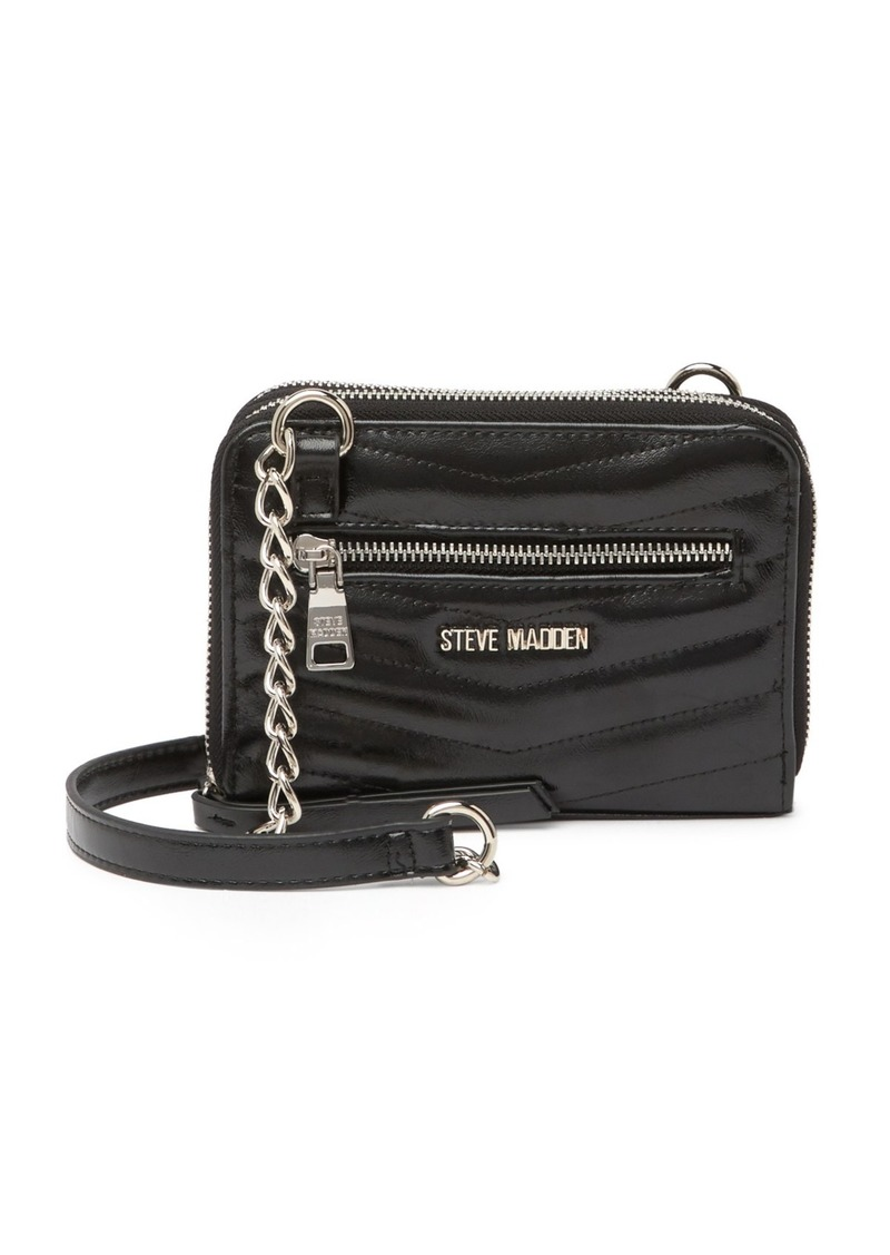 Steve Madden Chevron Quilted Crossbody
