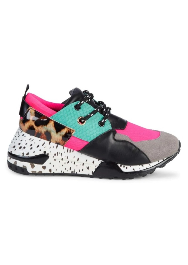 Steve Madden Cliff Patchwork Sneakers