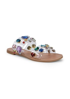 Steve Madden Jazlyn Embellished Two-Band Sandals