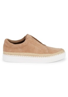 Steve Madden Dyson Suede Slip-On Sneakers