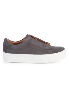 Steve Madden Emelda Suede Platform Sneakers