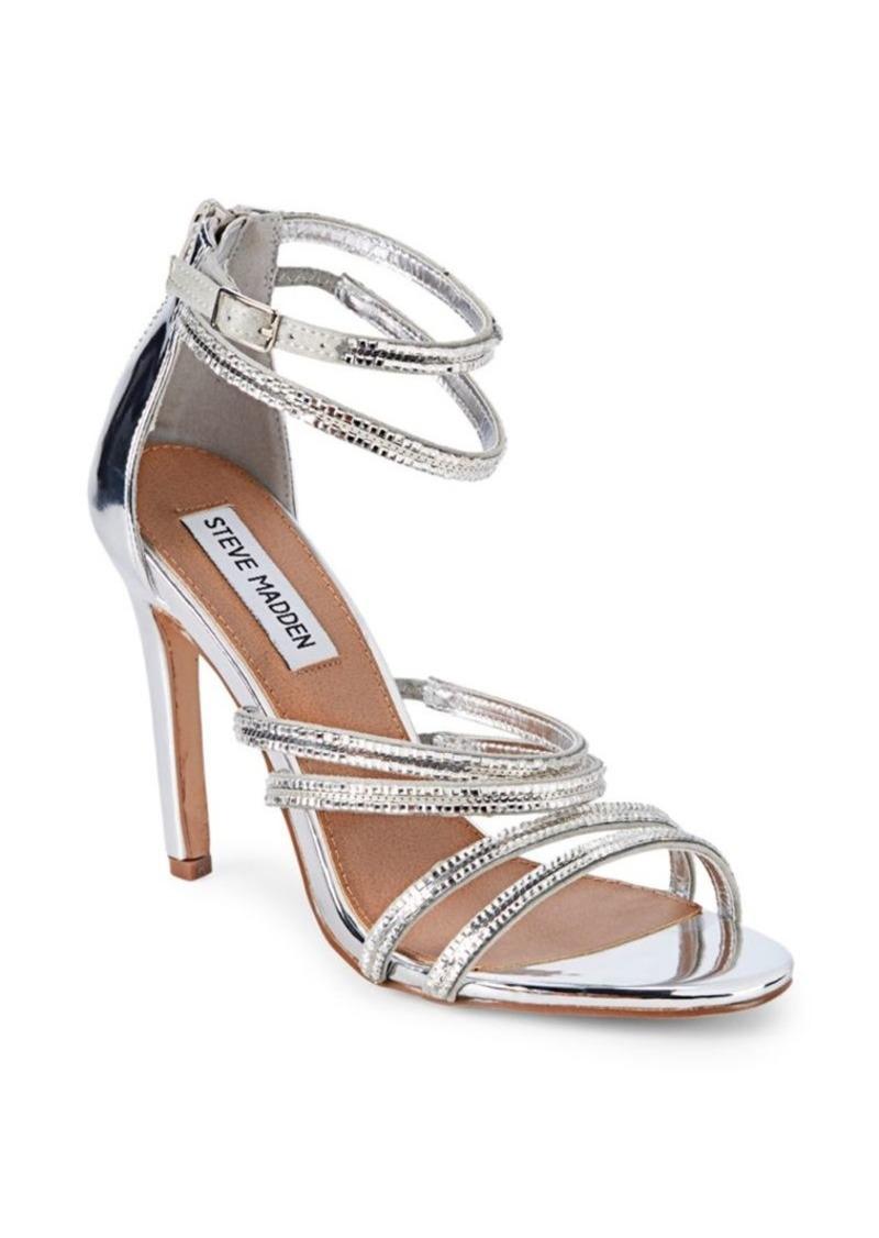 Steve Madden Faustina Embellished Strappy Sandals