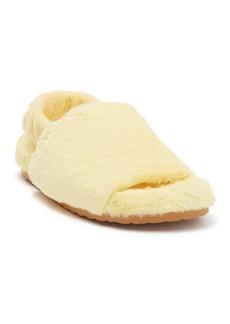 Steve Madden Fidget Faux Fur Slipper