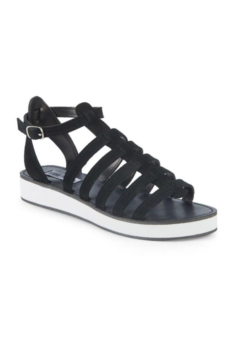 Steve Madden Gabriella Strappy Suede Sandals