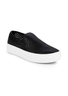 Steve Madden Gal Perforated Slip-On Sneakers