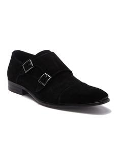 Steve Madden Geoff Suede Double Monk Shoe