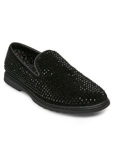Steve Madden Grinder Embellished Venetian Loafer (Men)