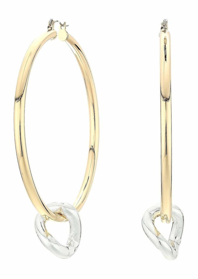 Steve Madden Hoop Earrings