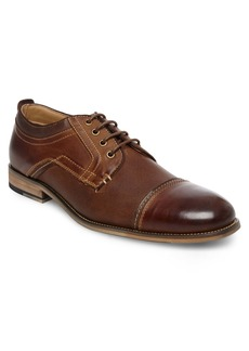 Steve Madden Jakub Leather Cap Toe Derby