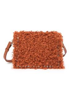 Steve Madden Kate Faux Shearling Crossbody Bag