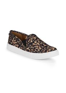 Steve Madden Leopard-Print Platform Sneakers