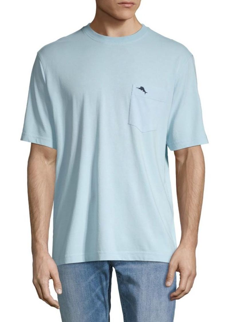 Tommy Bahama Logo Cotton Pocket Tee