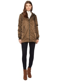 Steve Madden Long Bomber Jacket