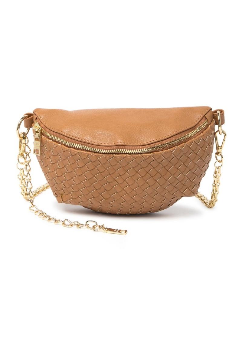 Steve Madden Mandie Woven Belt Bag