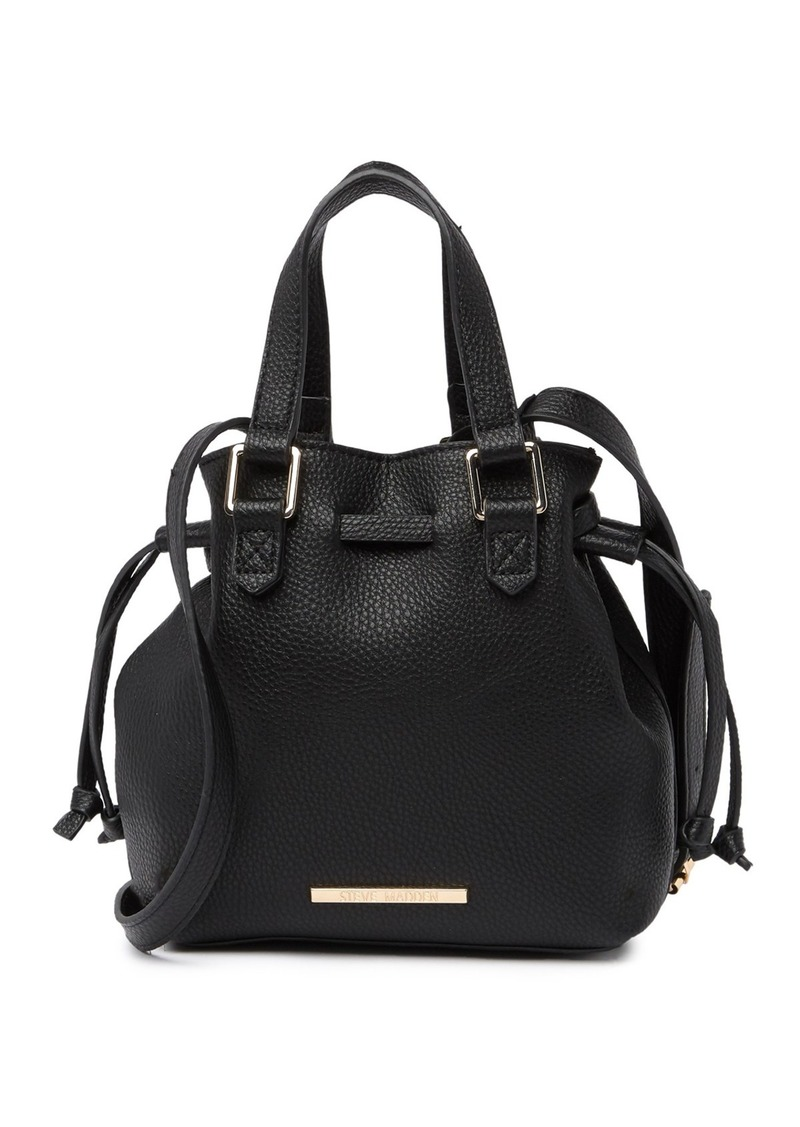Steve Madden Mini Bucket Crossbody Bag