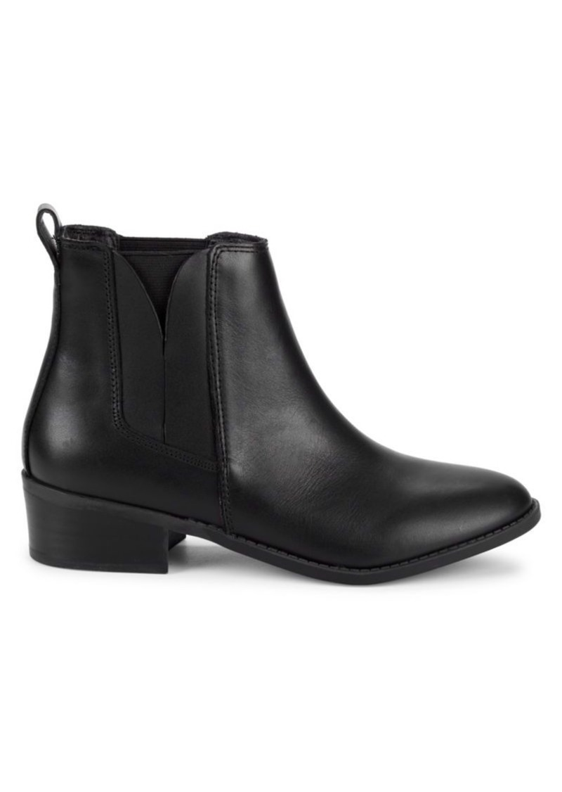 Steve Madden Naidy Leather Chelsea Boots