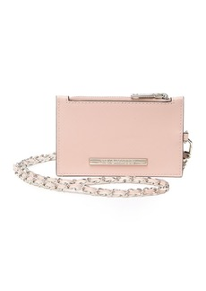 Steve Madden Necklace Chain Card Case