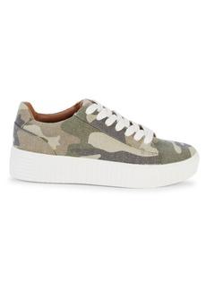 Steve Madden Oleta Camo Platform Sneakers