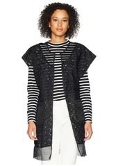 Steve Madden Out of Town Mesh Topper