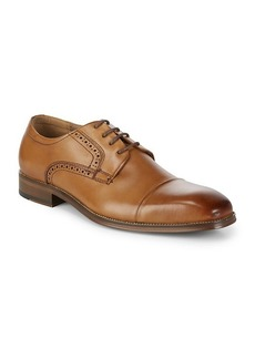 Steve Madden P-Crew Captoe Blucher Dress Shoes