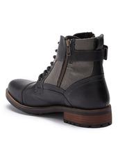Steve Madden P-Taken Lace Up Heeled Boot