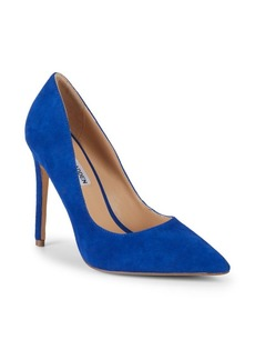 Steve Madden Olena Pointed-Toe Suede Pumps
