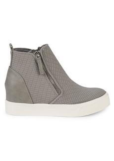 Steve Madden Sashi Leather Platform Sneakers