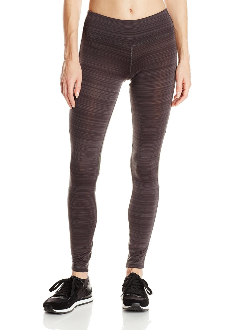 SM by Steve Madden Women's  Space Dye Colorblock Run Tight with Back Zip Pocket