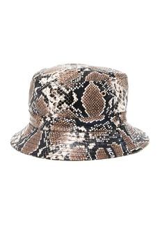 Steve Madden Snake Print Bucket Hat