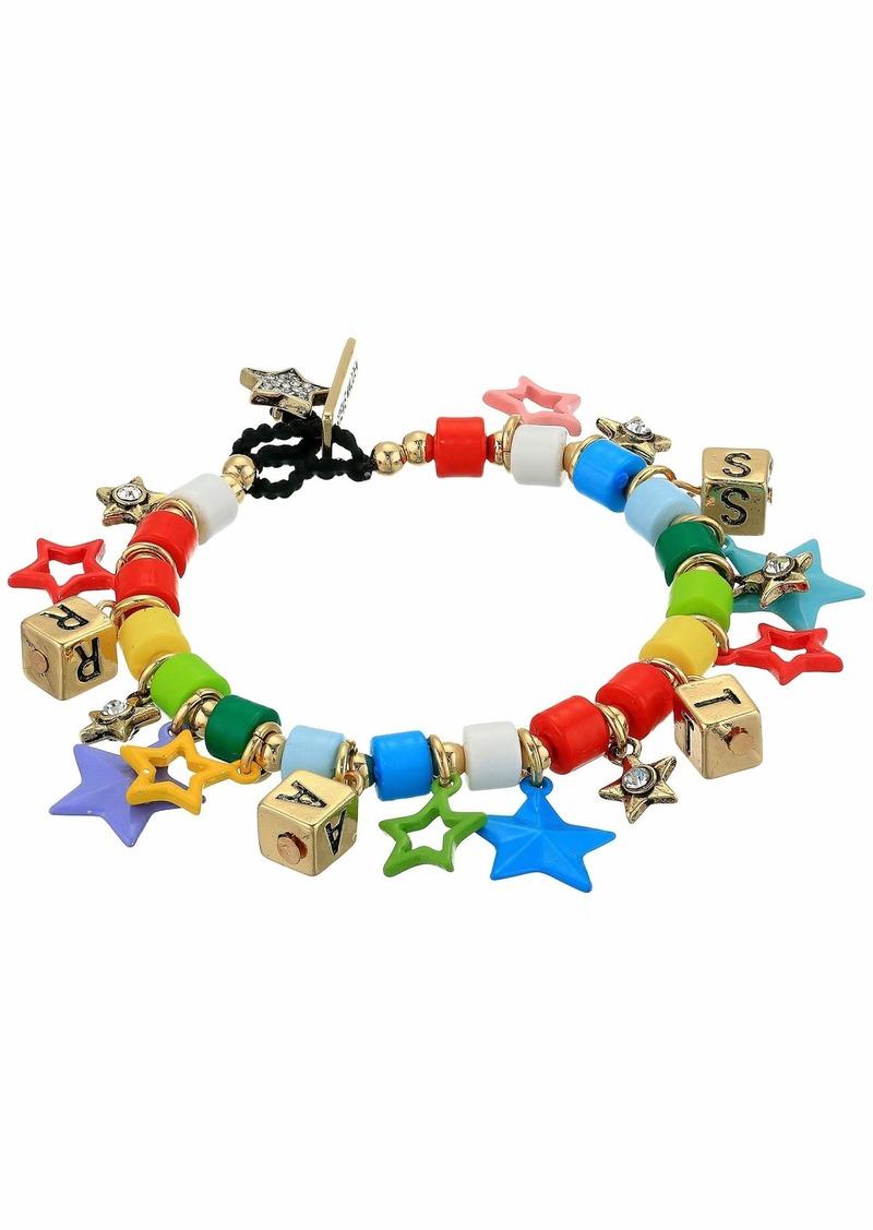 Steve Madden Star Charm Toggle Bracelet
