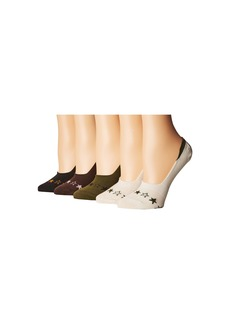 Steve Madden 5-Pack Footie Star