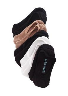 Steve Madden 5-Pack Neutral Footie Socks