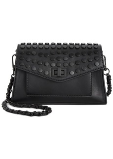Steve Madden Aidan Battery Stud Flap Crossbody